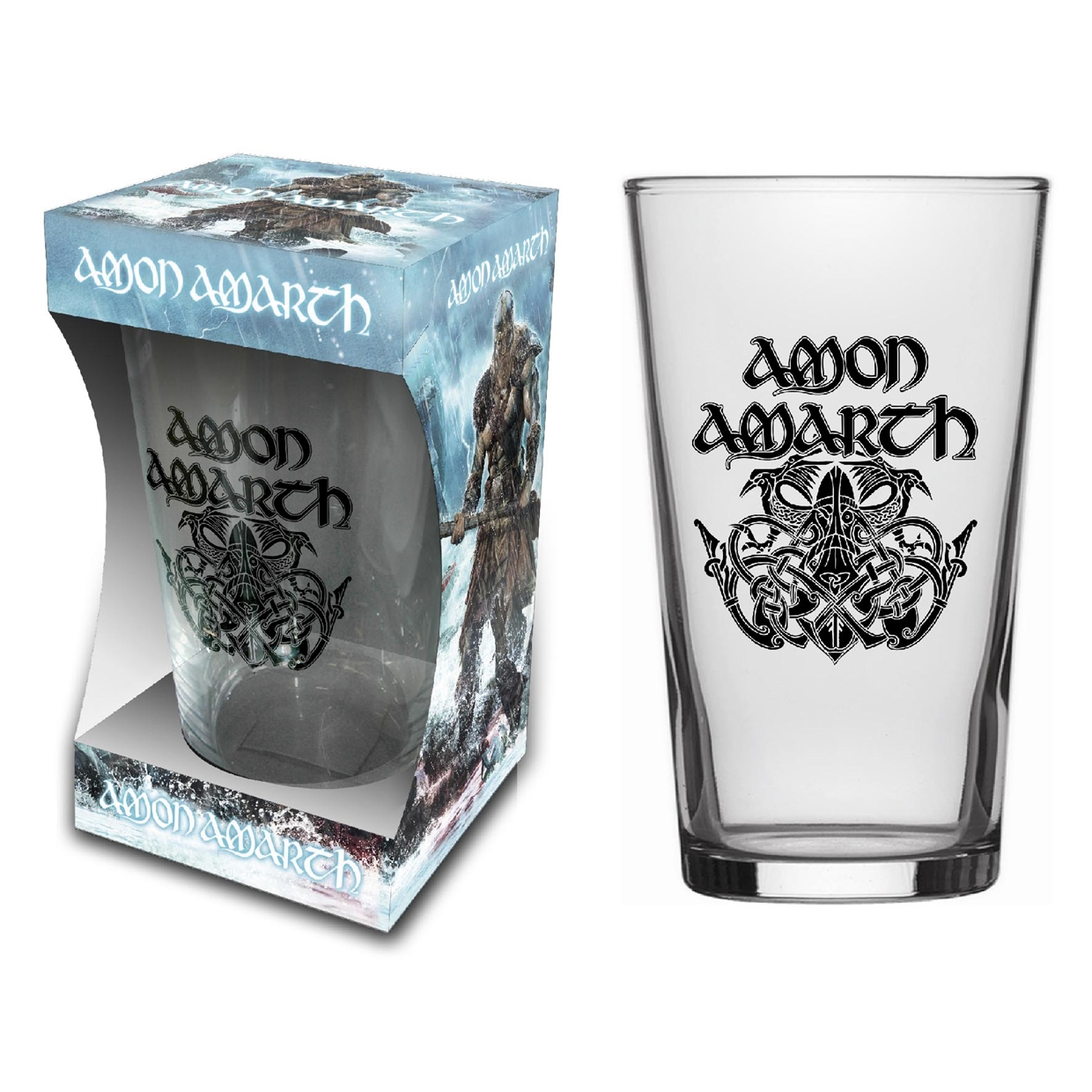 Amon Amarth Pint Glass